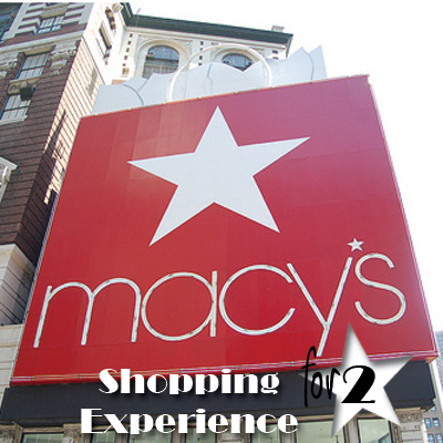 MACY'S<sup>®</sup> Shopping Experience - With the Macy's Shopping Experience, guests have the opportunity to travel to some of the country's most notorious shopping cities to be treated like a star.  Add in First Class accommodations for two in your chosen destination city and a $250 gift card to use during your Macy's shopping spree and you'll be acting like a diva in no time!  Airfare not included.